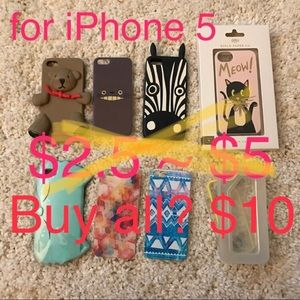 $10 for all❤️iPhone 5 case (orig price ea $25-90)